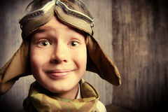 孩子的眼睛 免版税库存照片