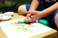 孩子的颜色 免版税图库摄影