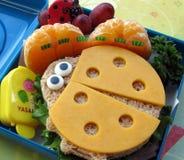 孩子的食物 库存图片