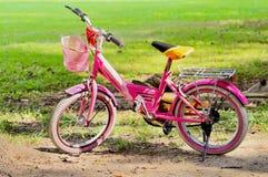 孩子的Bicyle 库存照片