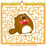 孩子的Labyrint 免版税库存照片