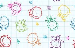 孩子纹理 免版税库存照片