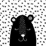 孩子设计的甜熊 免版税图库摄影