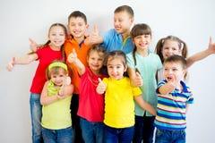 孩子赞许 免版税库存照片