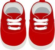 孩子鞋子 免版税库存图片