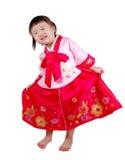 孩子韩文 免版税图库摄影