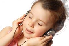 孩子音乐 库存图片