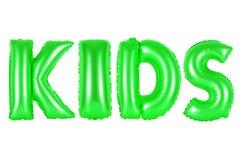 孩子,绿色 图库摄影