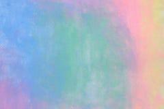 孩子绘五颜六色的水彩柔和的淡色彩背景 免版税库存照片