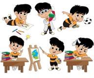 孩子活动 免版税库存图片