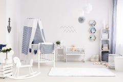 婴孩室的创造性的安排 库存图片