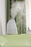 婴孩室空气润湿器 免版税库存照片