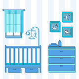 婴孩室 免版税库存照片