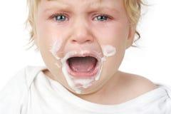 婴孩提供 免版税库存图片