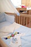 婴孩材料 免版税库存图片