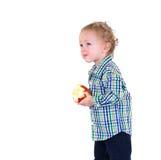 婴孩果子 免版税库存图片