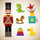 婴孩玩具设计 免版税库存图片