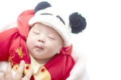 婴孩白天作梦 免版税库存照片