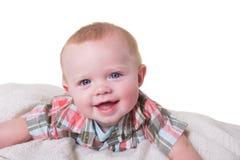 婴孩的纵向 免版税库存图片