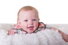 婴孩的纵向 图库摄影