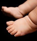 婴孩的脚 免版税图库摄影