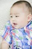 婴孩的画象 图库摄影