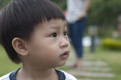婴孩看 免版税图库摄影