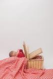 婴孩篮子 图库摄影