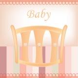 婴孩背景复制空间文本 免版税库存照片
