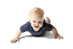 婴孩腹部位于 库存图片