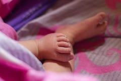 婴孩英尺少许s 图库摄影