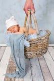 婴孩购物 库存图片