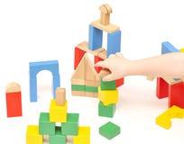 婴孩建筑集合, 免版税库存照片