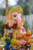婴孩Ganesh印度神雕象在巴厘岛泰国 库存图片