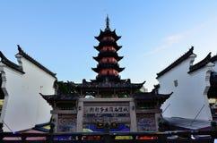 宁波步行街道 库存照片