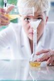 它不是魔术,它是纯净的科学 免版税库存照片