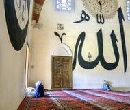 它是一个最高的清真寺老清真寺建筑价值 图库摄影