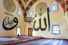它是一个最高的清真寺老清真寺建筑价值 库存图片