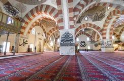 它是一个最高的清真寺老清真寺建筑价值 免版税图库摄影
