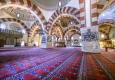 它是一个最高的清真寺老清真寺建筑价值 免版税库存照片