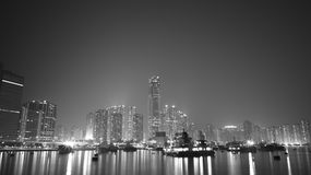 苍白的Tsuen,香港 库存图片