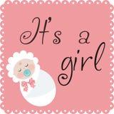 它是女孩 免版税库存照片