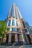 它是由纽约设计的城市根据建筑师的Chifley塔是一个优质摩天大楼 免版税库存图片