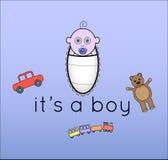 它是男孩 免版税库存照片