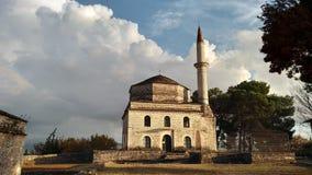 它的查莱堡垒约阿尼纳希腊 免版税库存照片