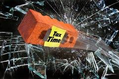 它` s税时间 图库摄影