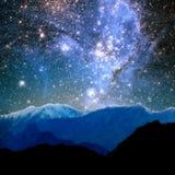 宇宙抽象光  免版税库存照片