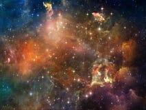 宇宙抽象 皇族释放例证