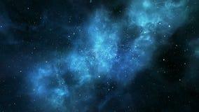宇宙星云旋转 皇族释放例证