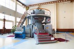宇宙模拟程序在宇航员培训中心 图库摄影